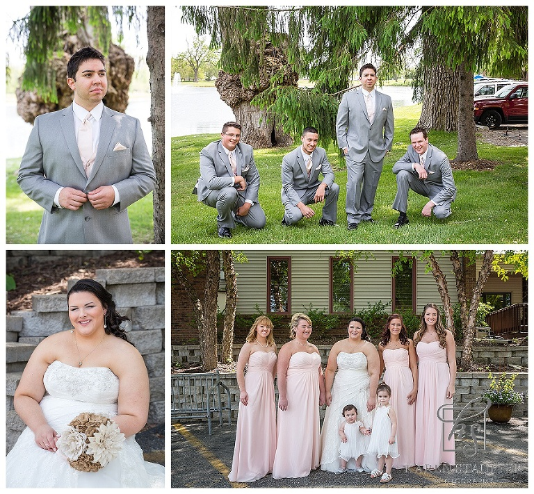 Lakeside Country Club Wedding | Bloomington, IL wedding photographer