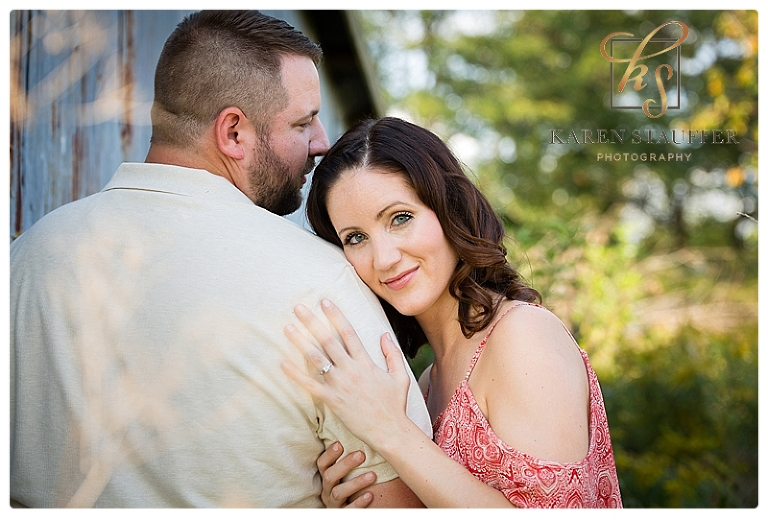 Engagement Session on the Family Farm