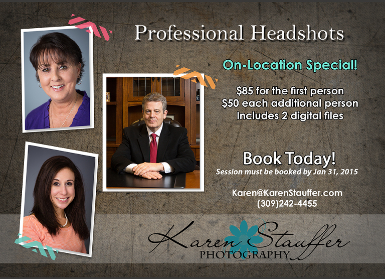 Corporate Headshots for todays business professionals