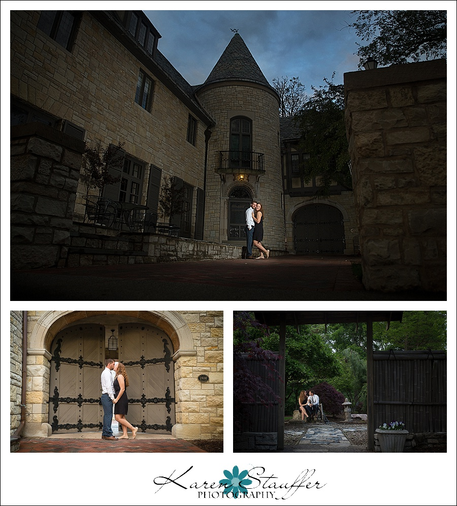 Ewing Manor Engagement Session | Bloomington, IL
