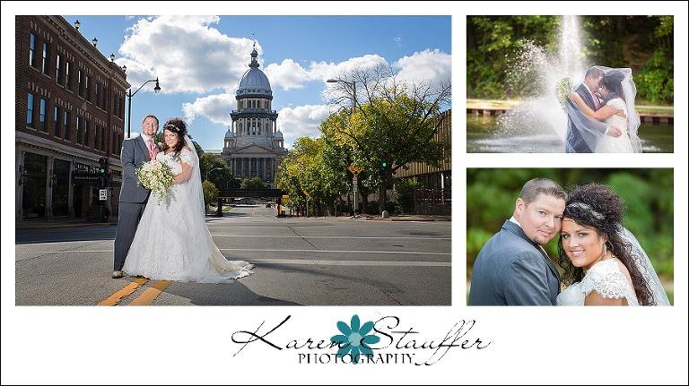 Springfield Wedding and reception