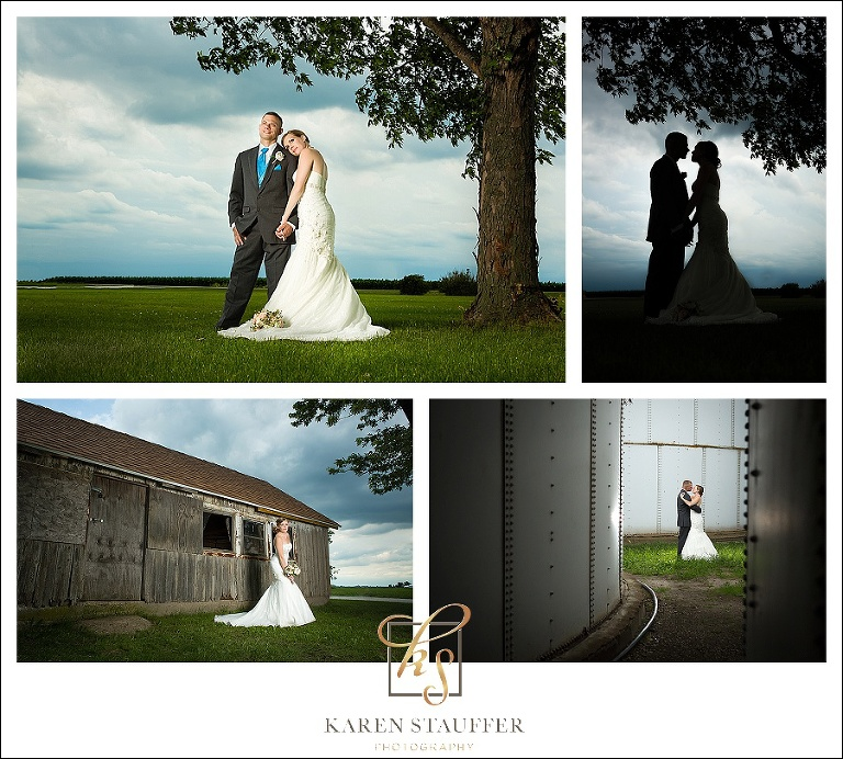 Lexington, IL Country Wedding , Lexington Community Center
