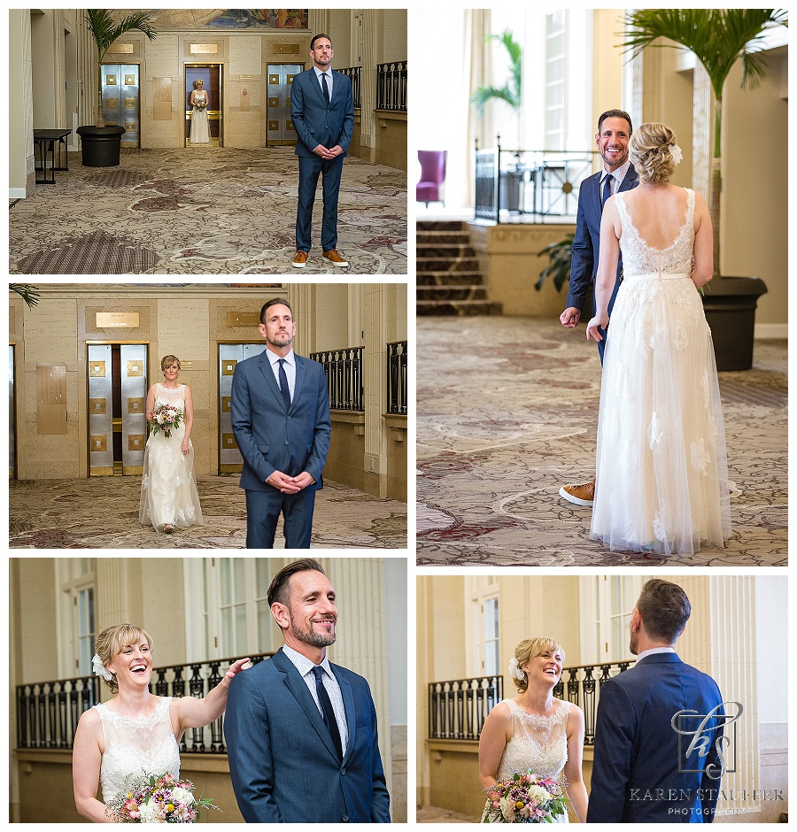 Luthe Botanical Gardens Wedding | Peoria Riverboat Reception