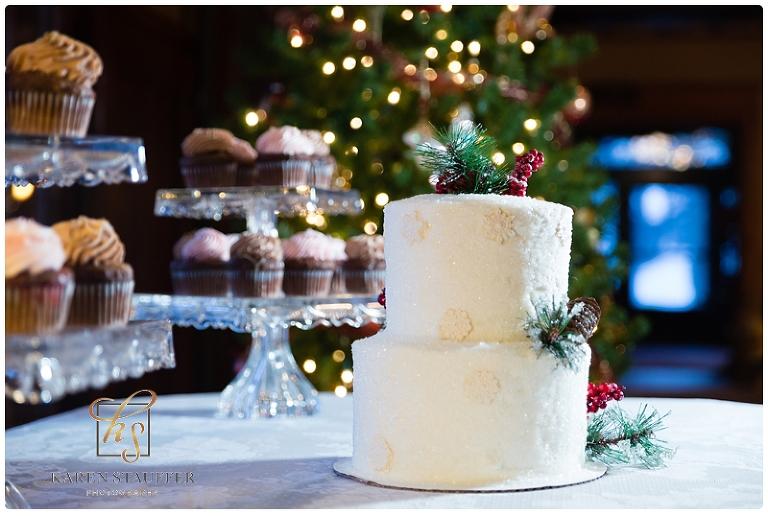 Vrooman Mansion Christmas Wedding