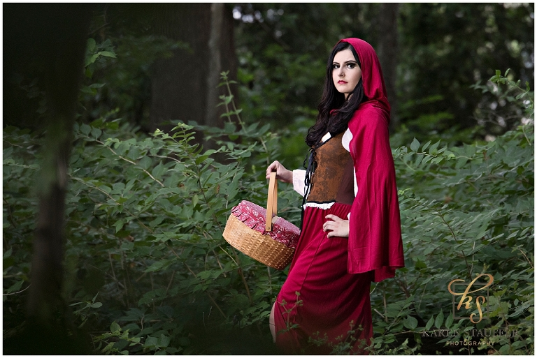 Little Red Riding Hood Themed Session